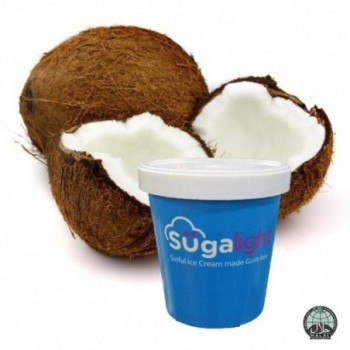 Sugalight Coconut Pint (Halal)