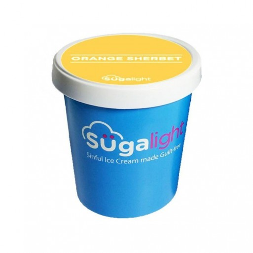Sugalight French Dark Chocolate ice cream 100ml cup