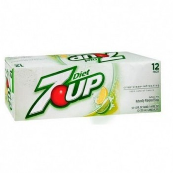 Sugarfree 7 UP Soda (12 cans)