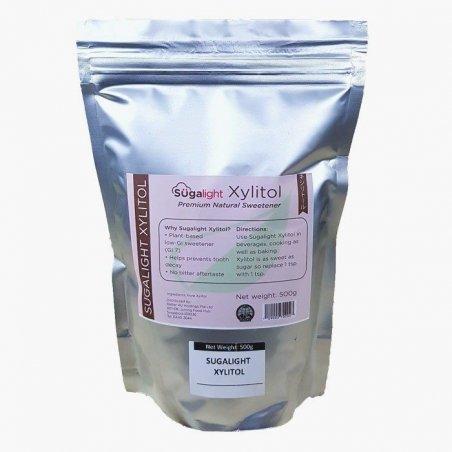Sugalight Xylitol Powder - 2x500g - Great Value Bundle