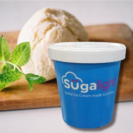 Sugalight Fresh Milk Vanilla Pint (Halal)