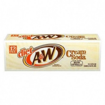 Sugarfree A&W Cream Soda...