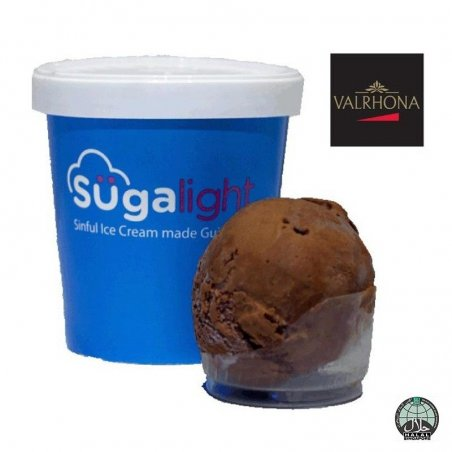 Sugalight French Dark Chocolate Pint (Halal)