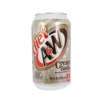Diet A&W Cream Soda Single...