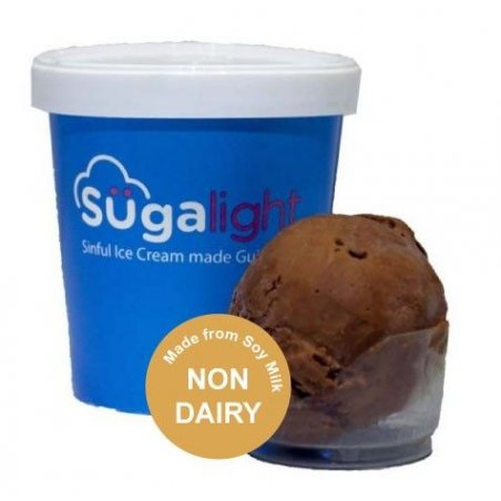 Sugalight Soy French Dark Chocolate Pint (Non-dairy)