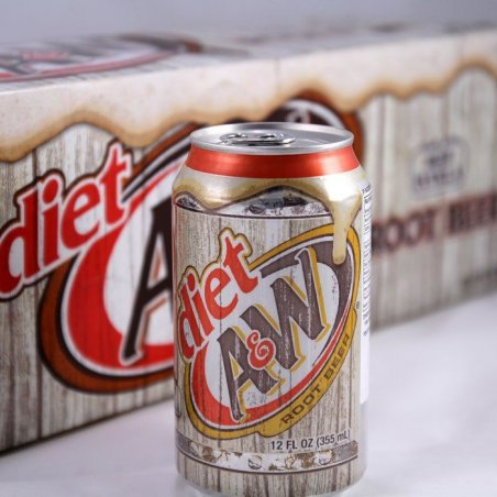 Sugarfree A&W Root Beer (12 cans)
